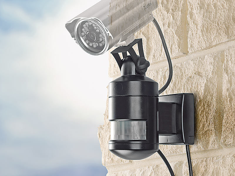 7links pir universal nachf hrung f r berwachungskamera scheinwerfer. Black Bedroom Furniture Sets. Home Design Ideas