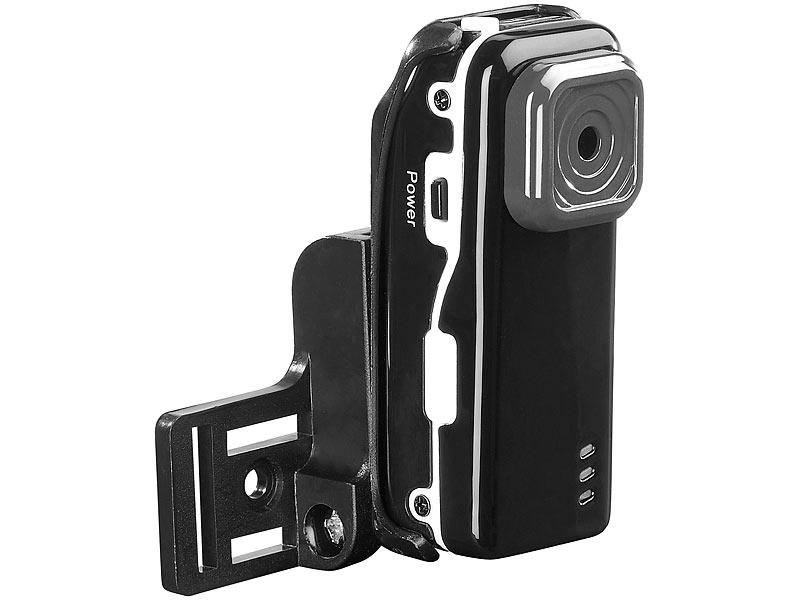 7links IP-Kamera IPC-mini mit Akku und SD-Aufnahme