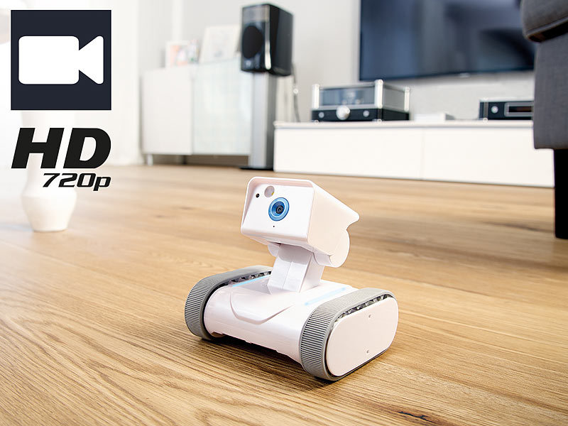 7links Home-Security-Rover HSR-1 mit HD-Video (refurbished)