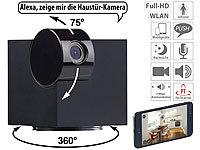 7links WiFi-IP-Überwachungskamera, Full HD, App, Pan/Tilt, für Echo Show