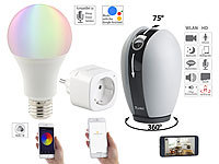 7links Smart-Home-Starter-Set 1, kompat. zu Amazon Alexa & Google Assistant