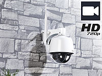7links Einsteiger Dome Outdoor-IP-Kamera IPC-400.HD, 720p (ref.); Outdoor-WLAN-IP-Kameras, IP-Kameras schwenkbar und neigbar Outdoor-WLAN-IP-Kameras, IP-Kameras schwenkbar und neigbar